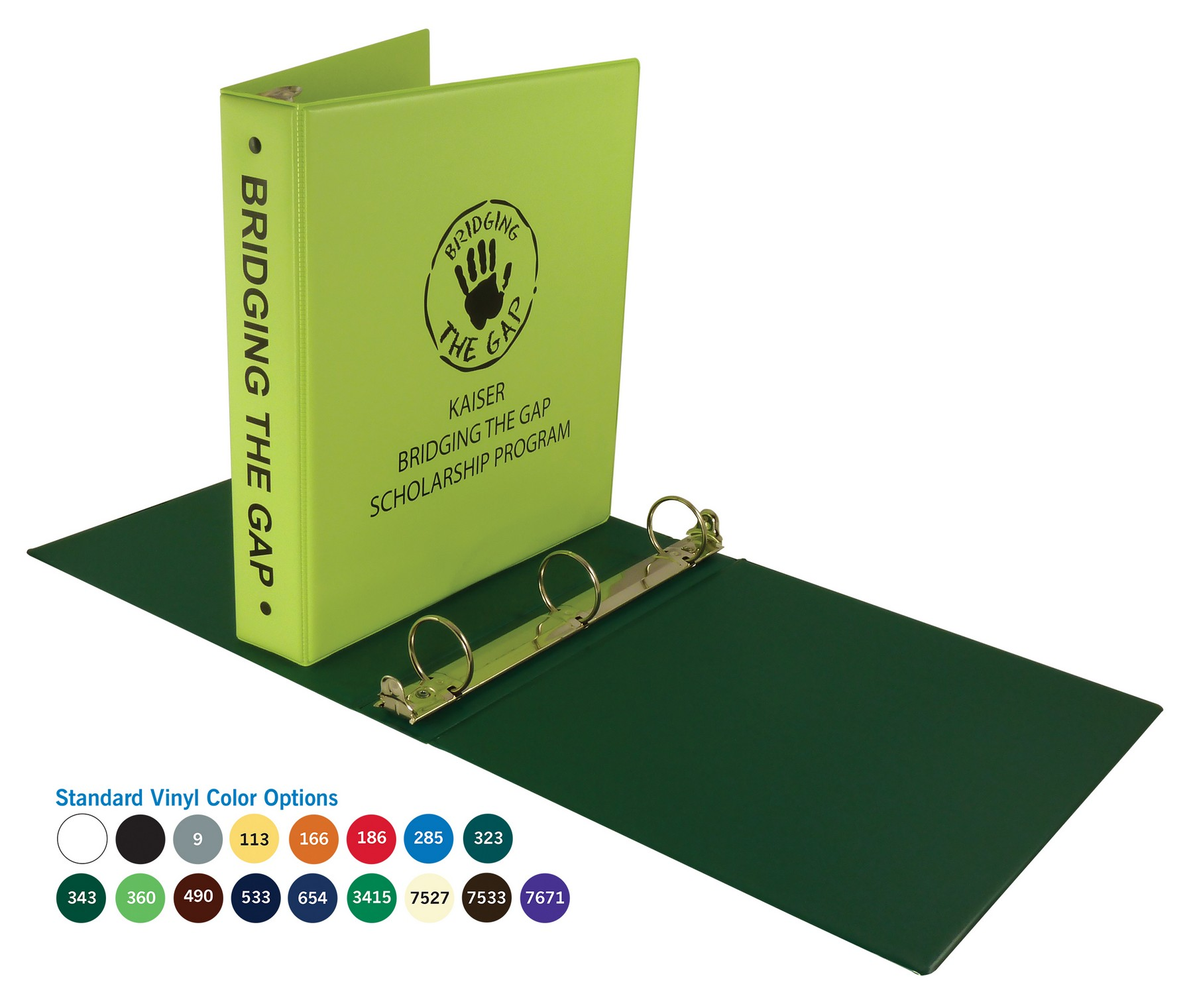 custom binder back to school promotional products