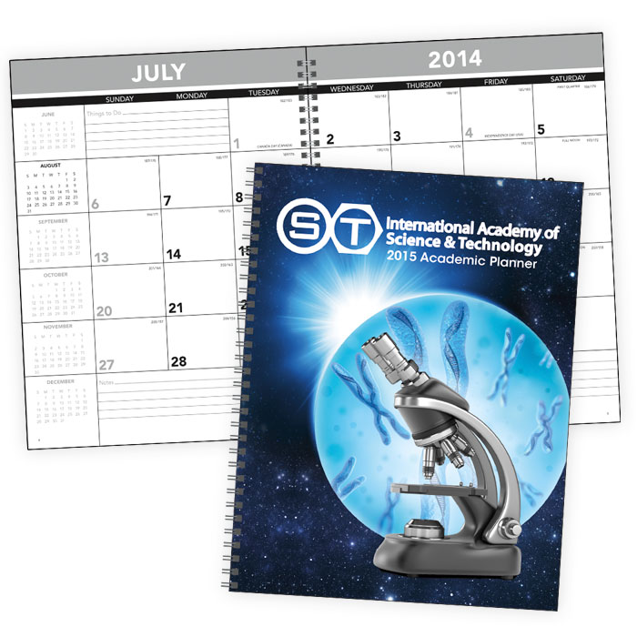 back to school promotional products calendar planner