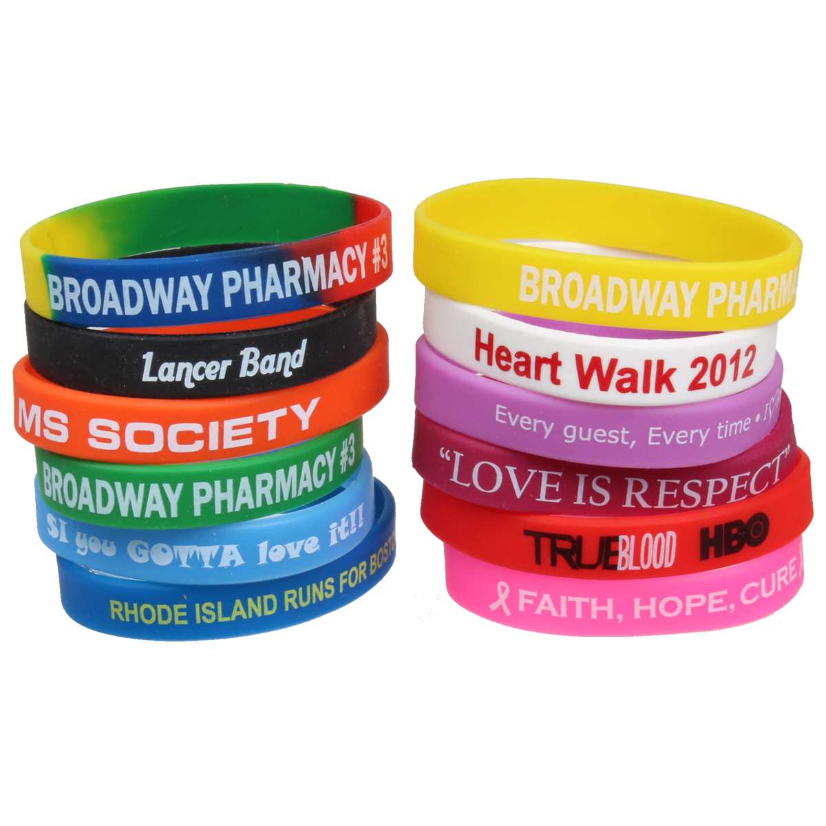 back to school promotional products wristbands